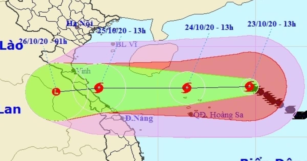 Bão số 8 đổ bộ miền Trung gây mưa, khả năng Biển Đông xuất hiện bão số 9