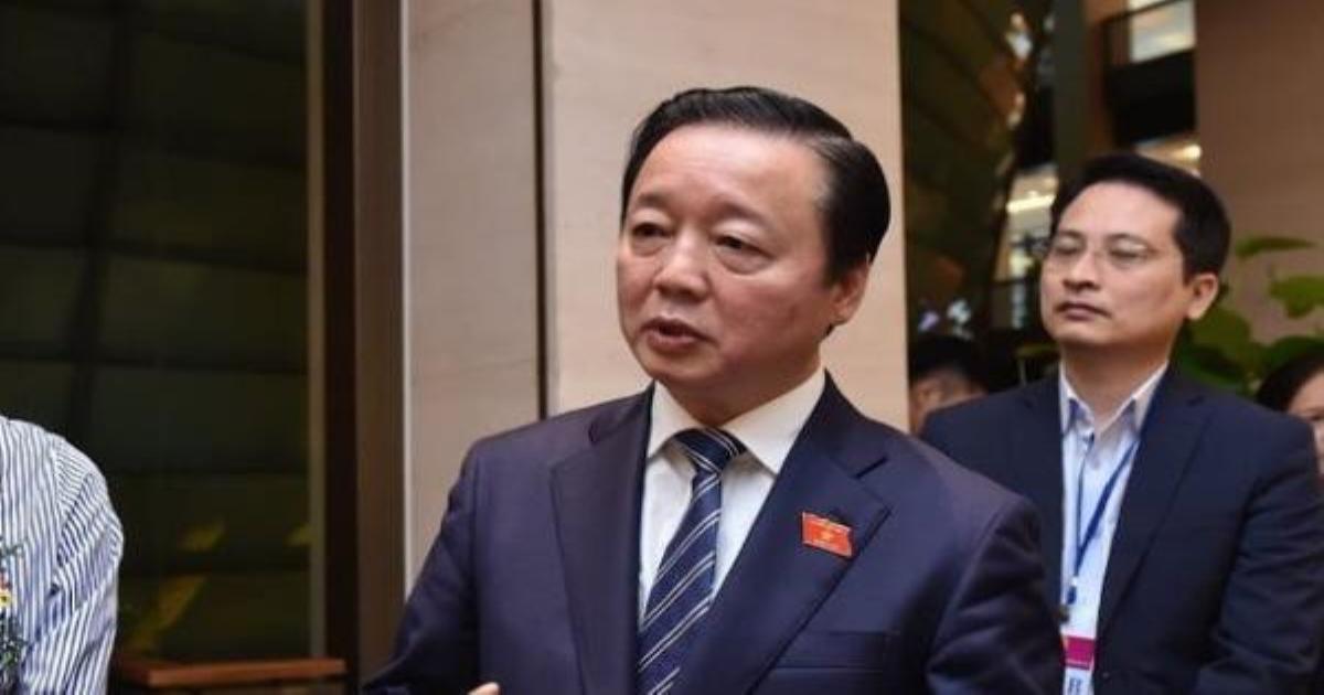 Bộ trưởng Trần Hồng Hà: Không khuyến khích phát triển thủy điện nhỏ bằng mọi giá