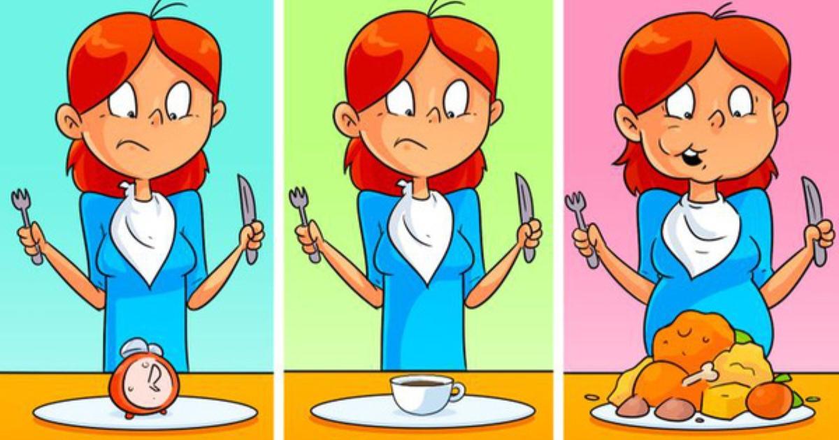 Cứ chờ khi đói mới ăn có thể gây ra ảnh hưởng to lớn đến dạ dày và não, kể cả bạn muốn giảm cân cũng cần bỏ ngay kiểu ăn này