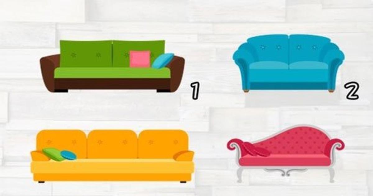Chọn chiếc ghế sofa bạn thích, biết trước con đường hôn nhân