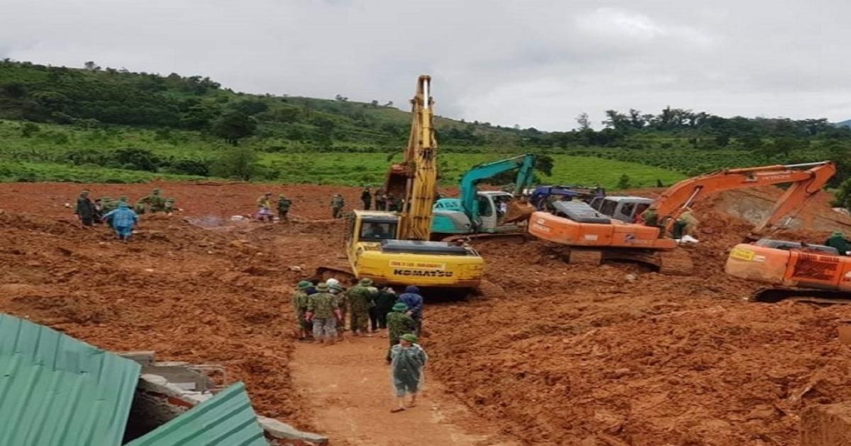Đã tìm thấy toàn bộ 22 thi thể cán bộ, chiến sĩ Đoàn kinh tế quốc phòng 337