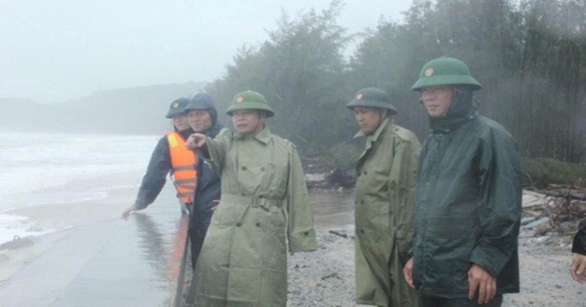 Thừa Thiên Huế triển khai các biện pháp khẩn cấp ứng phó với mưa lũ