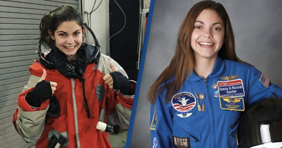 Gặp gỡ cô gái 19 tuổi xinh đẹp mong muốn đặt chân lên sao Hỏa