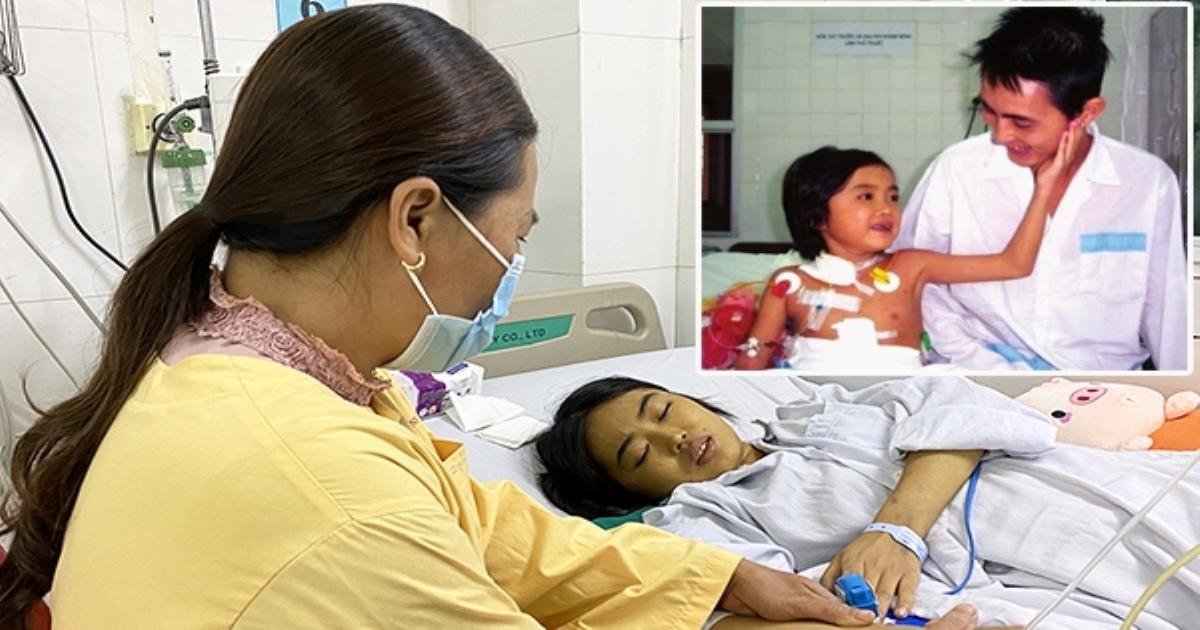 Người ghép gan đầu tiên ở Việt Nam đang đợi ghép lần hai