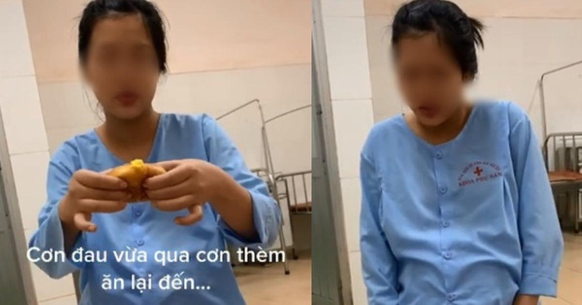 Chuyện đi đẻ của hội chị em: Khi cơn thèm ăn lấn át cơn đau đẻ, người phụ nữ vừa chịu đau vừa quất hết hộp bánh