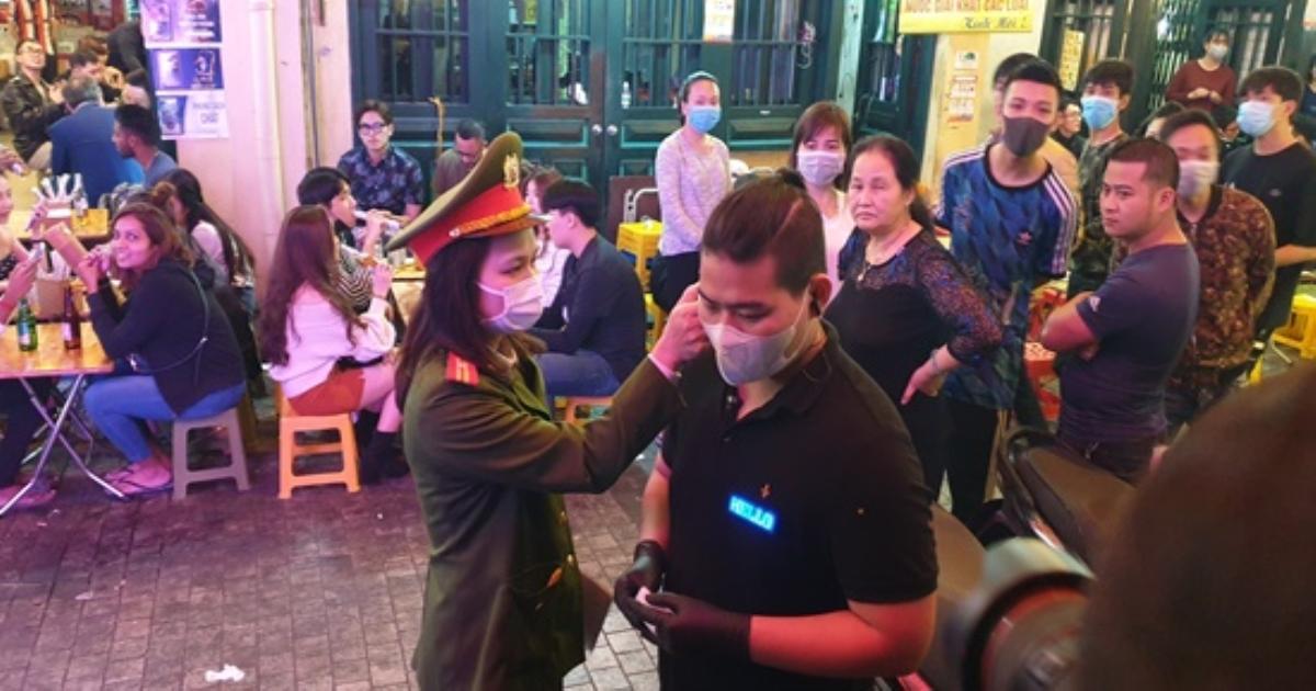 Hà Nội: Kiểm tra chặt chẽ việc phòng dịch Covid-19 tại các quán bar, karaoke