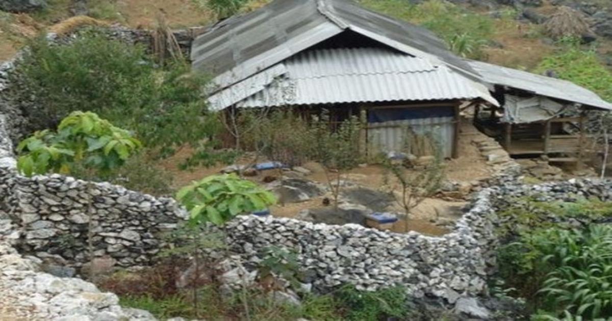 Nét kiến trúc nhà ở độc đáo của người Mông ở Hà Giang