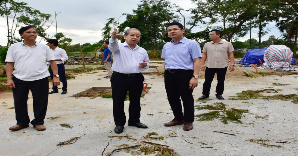 TT - Huế: Thiệt hại khoảng 505 tỷ đồng vì bão số 5