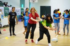 Đại sứ quán New Zealand, ChildFund mang sân chơi bóng bầu dục tới Việt Nam