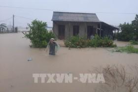 Từ 24-26/10, các tỉnh miền Trung có mưa do hoàn lưu bão số 8