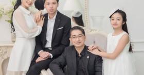 """Nhân ngày 20/10, cựu người mẫu Thuý Hằng: """"20 năm hôn nhân chúng tôi chưa một lần to tiếng"""