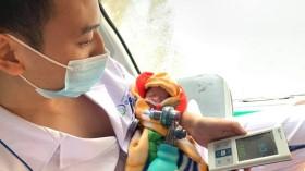 Sản phụ sinh non vượt cạn thành công nhờ hội chẩn trực tuyến