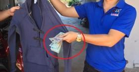 Chuyện hi hữu: Phát hiện 8 triệu đồng trong chiếc áo cũ bà con đem từ thiện, dân mạng liền xôn xao quỹ đen của anh chồng nào vậy?