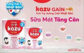 """Giải mã 3 yếu tố khiến sản phẩm dinh dưỡng công thức Kazu Gain Gold 2+ được mẹ Việt """"săn lùng"""" cho con"""