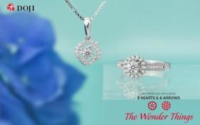 Tiên phong xu hướng với Bộ sưu tập Trang sức kim cương The Wonder Things của DOJI