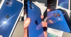 iPhone 12 màu xanh dương của Apple dính lời nguyền ảnh trên mạng và thực tế, dân mạng thất vọng ê chề, ném đá tới tấp