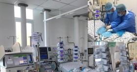 Vừa ECMO vừa lọc máu liên tục, cứu bé sơ sinh nguy kịch sau mổ tim bẩm sinh