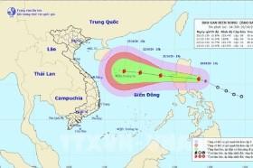 Yêu cầu theo dõi chặt chẽ diễn biến của cơn bão Saudel