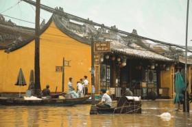 Quảng Nam: Nước lũ dâng cao gây ngập nhiều tuyến đường ở phố cổ Hội An