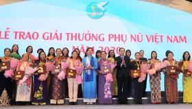 17 tập thể, cá nhân nhận Giải thưởng Phụ nữ Việt Nam năm 2020