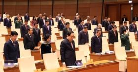 Quốc hội dành 1 phút mặc niệm Thiếu tướng Nguyễn Văn Man hy sinh khi làm nhiệm vụ cứu hộ đồng bào miền Trung