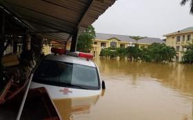 Quảng Bình: Các bệnh viện ngập sâu, công tác khám, chữa bệnh gặp khó khăn