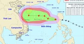 Từ ngày 25/10, miền Trung sẽ tiếp tục mưa lớn do bão số 8