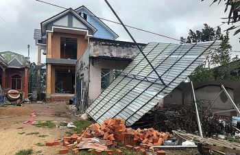 Bão số 9 gây mưa to tại các tỉnh Nghệ An - Quảng Bình từ chiều 27/10