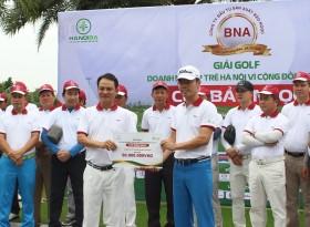 Hơn 600 triệu đồng ủng hộ miền Trung, gây quỹ từ thiện từ Giải Golf Doanh nghiệp trẻ Hà Nội 2020