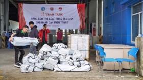 Tiếp nhận 1.150 bộ nhà bếp, sửa chữa nhà cửa ủng hộ đồng bào vùng lũ miền Trung
