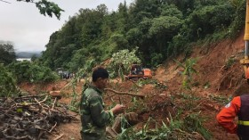 Quảng Trị: 11 người bị mất tích do mưa lũ ở xã Hướng Việt