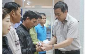 Quảng Trị thăm thân nhân 22 cán bộ, chiến sĩ Đoàn Kinh tế quốc phòng 337 hy sinh