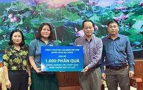 4.000 phần quà ủng hộ đồng bào miền Trung bị lũ lụt