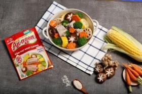 Hạt nêm Aji-ngon® Heo phiên bản mới - đậm vị thịt ngọt vị xương