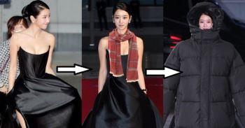 Sợ Seo Ye Ji khoe ngực khủng rồi cảm lạnh, dân tình có luôn loạt ảnh chế kín bưng cho nàng điên nữ