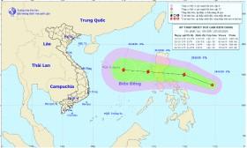 Lại xuất hiện áp thấp nhiệt đới khả năng mạnh lên thành bão