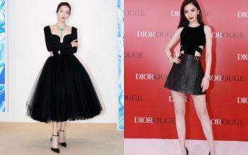 Sao nữ trên thảm đỏ tuần qua: Váy đen dễ mặc là thế nhưng Nữ thần Kim Ưng Tống Thiến vẫn là nhân vật bị réo tên vì món phụ kiện lệch tông
