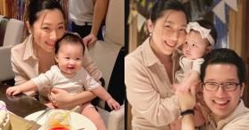 Em gái Trấn Thành xuất hiện với khuôn mặt khác lạ trong ngày sinh nhật chồng ngoại quốc