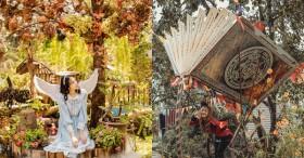Xuất hiện quán cà phê như trong thế giới cổ tích Disney nằm ngay tại Đà Lạt, phía trên là khu sống ảo xịn xò, bên dưới là vườn hoa cánh bướm cực ảo