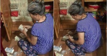 Dân tình trầm trồ với chiếc tủ đựng cả trăm xấp tiền lẻ của bà cụ, thành quả tích góp đáng kinh ngạc mà không phải ai cũng làm được