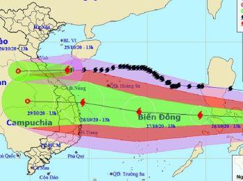 Đối phó bão số 9: Gần 1,3 triệu người nằm trong khu vực nguy hiểm cần sơ tán