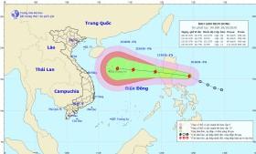 Cảnh báo thông tin giả mạo về bão số 8