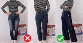 Theo chân cô nàng đùi to chắc nịch chọn đúng kiểu quần jeans nịnh dáng siêu chuẩn, chẳng cần giảm cân nhìn cũng gọn người