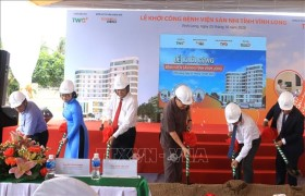 Khởi công xây dựng Bệnh viện chuyên khoa sản, nhi đầu tiên tại tỉnh Vĩnh Long