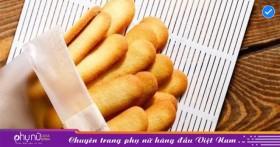 Cách làm bánh quy lưỡi mèo nhanh gọn, thơm ngon