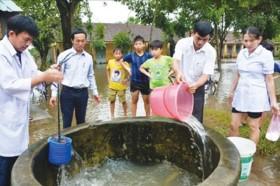 Cách ngăn ngừa các bệnh đường ruột do bão, lụt