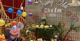 Chùa Tam Chúc tổ chức chương trình trung thu cho em
