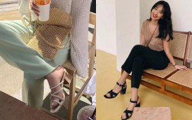 Sandal gót thô xứng đáng là kiểu đáng sắm nhất của nàng công sở, muốn ăn diện vừa sang vừa thoải mái thì bạn phải sắm ngay
