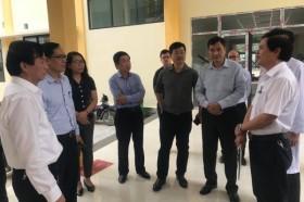 Đoàn công tác Bộ Y tế làm việc với Sở Y tế Quảng Trị khắc phục hậu quả mưa lũ trên địa bàn