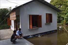 Những mô hình nhà chống lũ giúp dân vượt qua mùa bão lũ